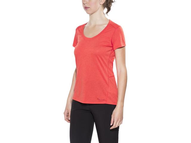 Marmot Logan T-shirt Femme, scarlet red